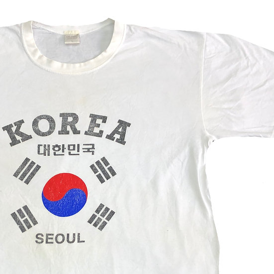 KOREA T-shirt  / WHT