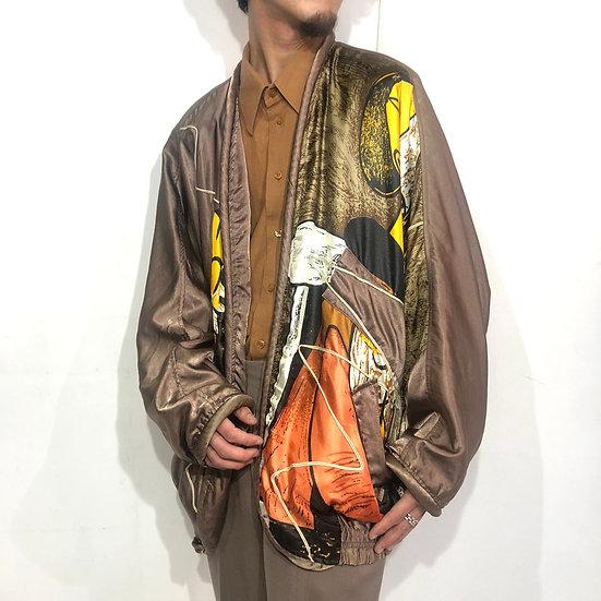 picaso design jacket / BRN