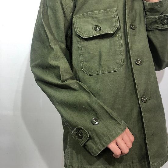 64's 2nd type utility shirt / KHAKI