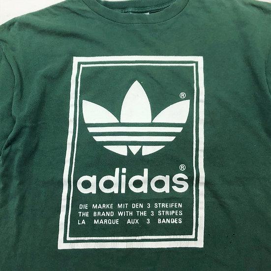 old adidas T-shirt / GRN