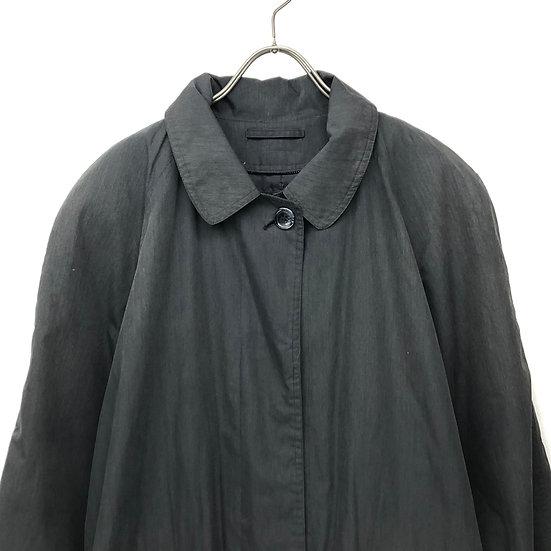 old eddie bauer balmacaan coat / BLK