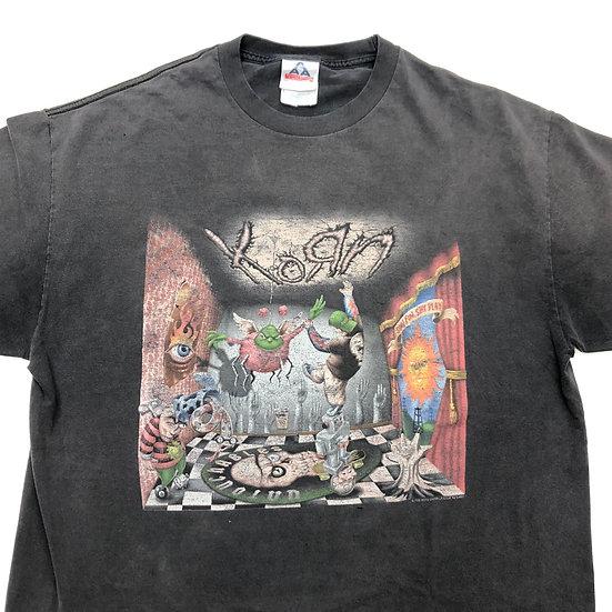 KORN band T-shirt / BLK