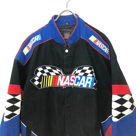 old JH design racing jacket / BLK