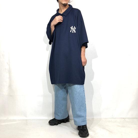 majestic NY polo shirt / navy