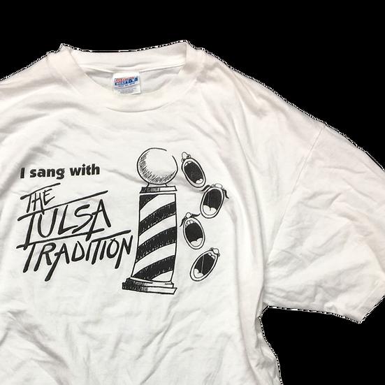 old jazz T-shirt / WHT