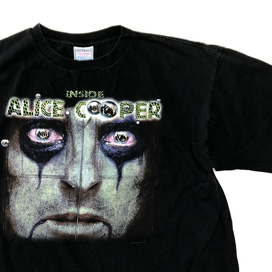 old Alice cooper band T-shirt / BLK