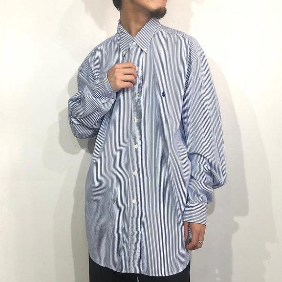 Ralph Lauren stripe shirt / stripe