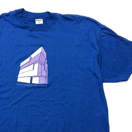 Art center T-shirt  / BLU