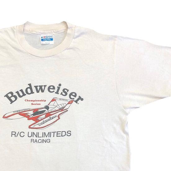 old Budweiser T-shirt / WHT