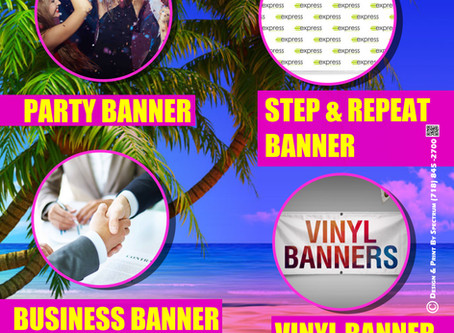 STYLISH AND CREATIVE DESIGNED BANNERS