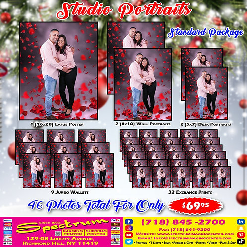 Holiday Studio Portrait (Standard Package)