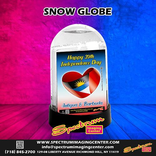 Antigua & Barbuda 39th Independence Day Snow Globe