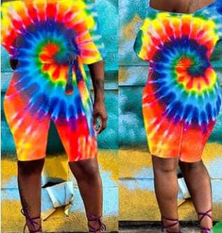 NEATLY DONE TIE-DYE SHIRTS