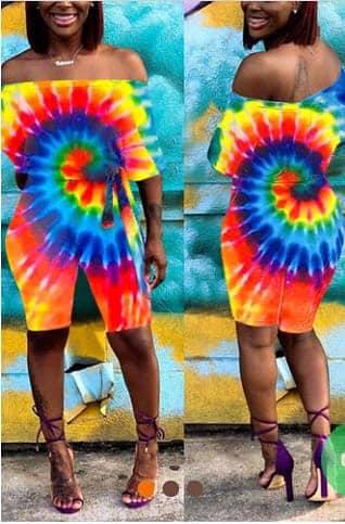Spectrum Tie-Dye design