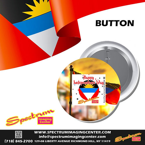 Happy Independence Day Antigua & BarbudaButton