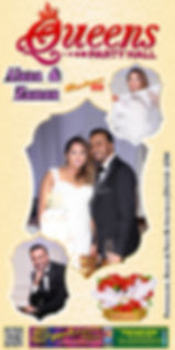 QUEENS PARTY HALL (3 x 6) BANNER (08.05.