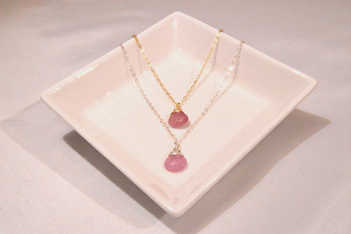 Pink Ruby Medium Drop