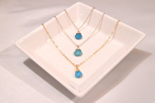 Turquoise Small Drop