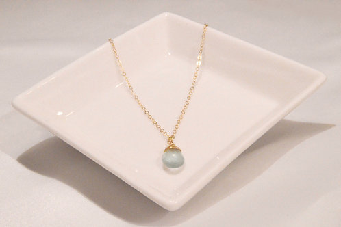 Aquamarine Medium Pear