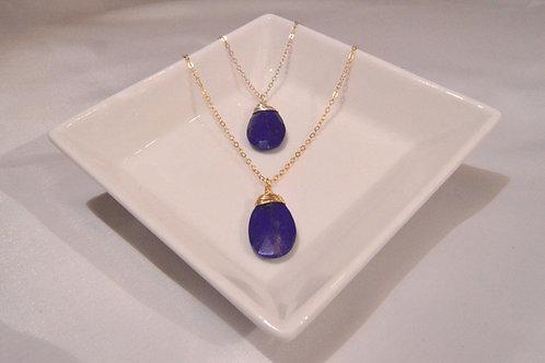 Lapis Lazuli Large Pear
