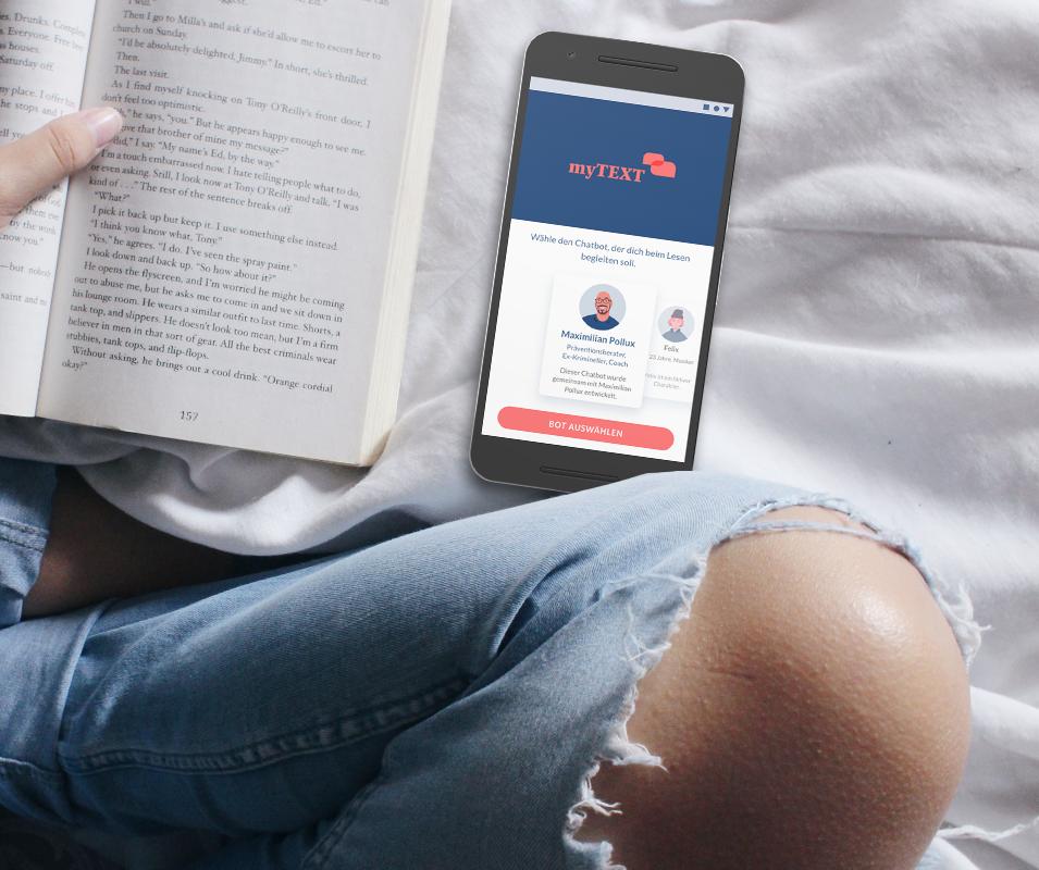 myTEXT | Reading Companion App
