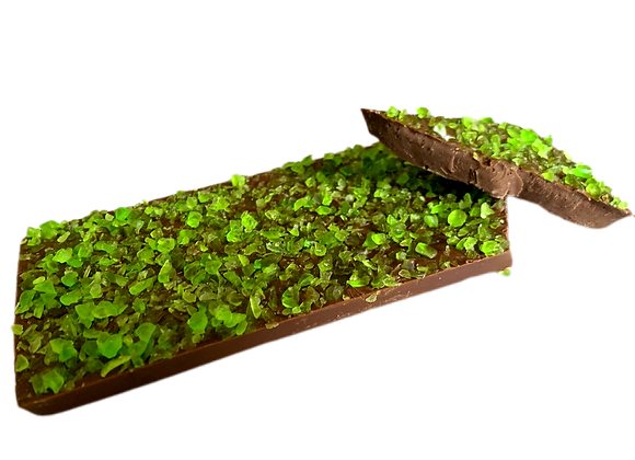 Crispy Mint Milk Chocolate Block