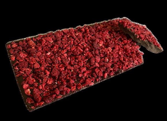 Raspberry Indulgence Dark Chocolate Block