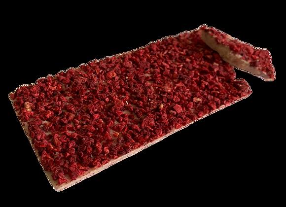 Raspberry Heaven White Chocolate Block
