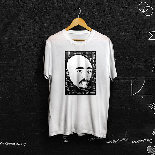 Re-Educated Unisex Tee: 'PAC'