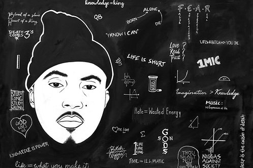 Re-Educated: NAS (A2 Print)