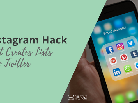 Instagram Hack That Creates Lists Like Twitter