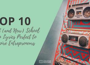 Top 10 Old (and New) School Rap Lyrics Perfect to Inspire Entrepreneurs