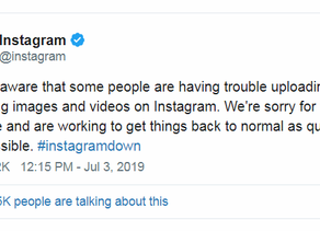 5 Things to do the Next Time Social Media Crashes