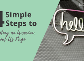 4 Simple Steps to Writing an Awesome 'About Us' Page
