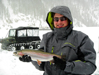 Ready for winter fishing?