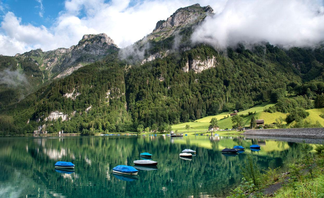 Klöntalersee, Switzerland, 2019