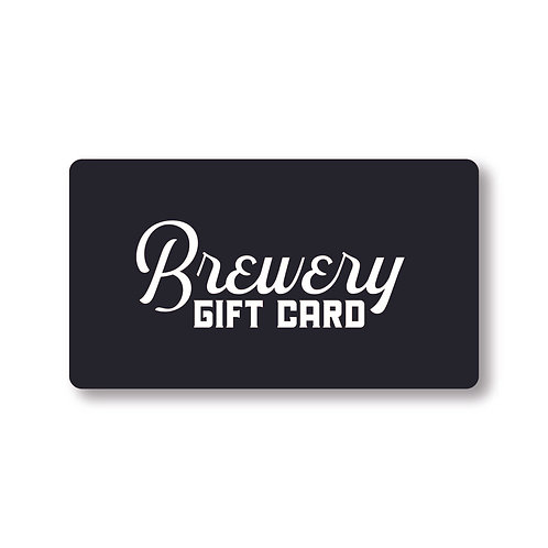 Brewery Gift Card