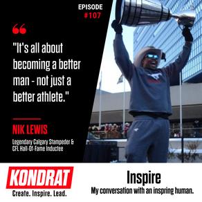 Nik Lewis - My Conversation With An Inspiring Human.