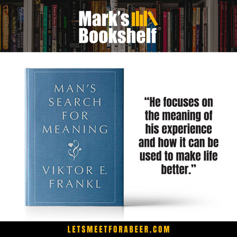 My Bookshelf - Man's Search For Meaning