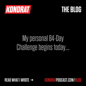 84 Day Challenge - Day 1