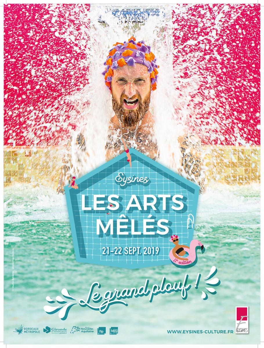affiche du festival  Les Arts Meles à eysines 2019