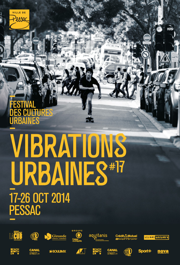 AFFICHE FESTIVAL VIBRATIONS URBAINES #17