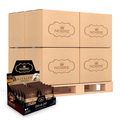 1 Pallet Alfajor Chocolate Meio Amargo com 3.240 unidades
