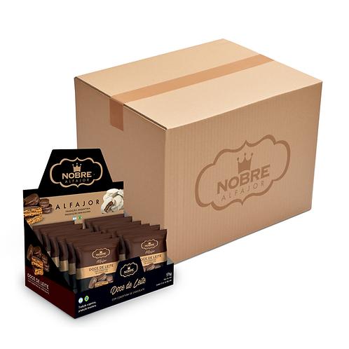 1 Caixa Master Alfajor Chocolate Meio Amargo com 72 unidades