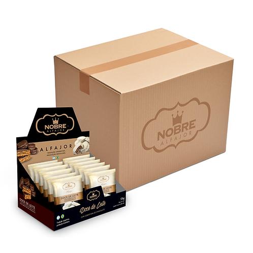 1 Caixa Master Alfajor Chocolate Branco com 72 unidades