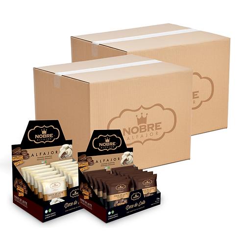 2 Caixas Master Alfajor Chocolate com 144 unidades