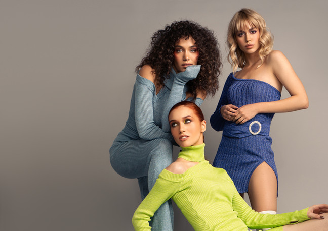 Kelly Jumpsuit, Gina Dress, Nora Dress