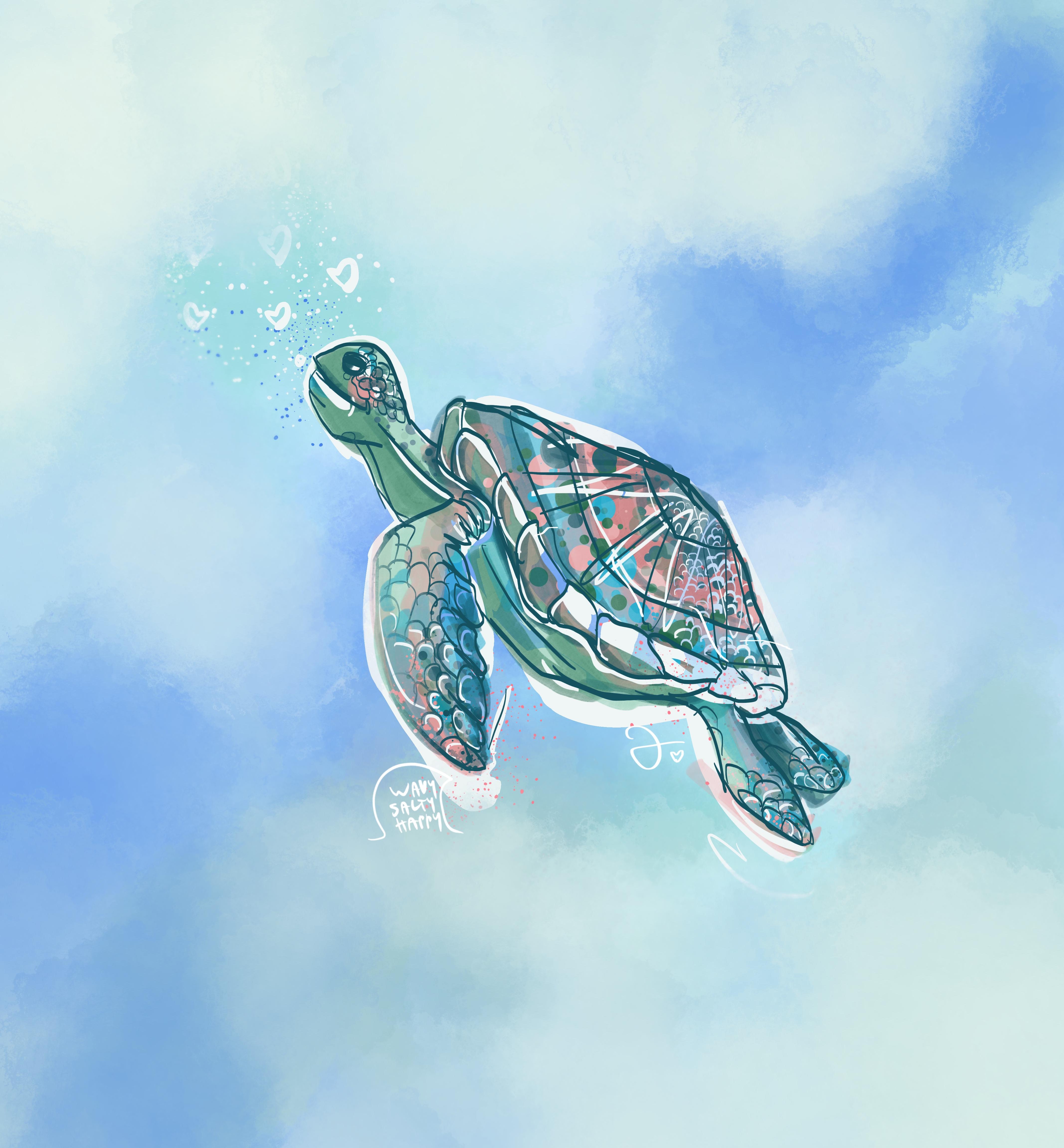 Larry the Happy Turtle