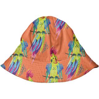 WAVYSALTYHAPPY X PAOM Bucket Hat Tropical Parrot