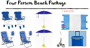 4 Person Beach Package